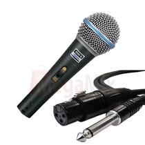 Microfone Som Gravação Profissional Palestra Professor Mesa