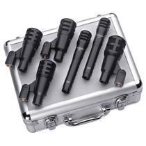 Kit 6 Microfones Audix Fusion Ao Vivo E Estudio - Case -novo