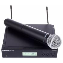 Microfone Shure Blx24rsm58 (lançamento) Produto Original