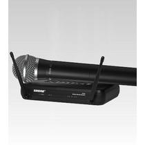 Microfone Sem Fio Shure Svx24br / Pg58 Na Cheiro De Música