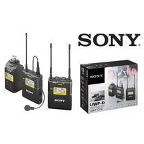 Microfone Sony Uwp-d16 De Lapela E Sem Fio Plug On De Mão Sp