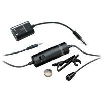 Microfone Lapela Atr3350 Audio-technica Gravador Zoom Tascam