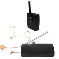 Microfone Sem Fio Auricular De Cabeça Headset Cor Da Pele