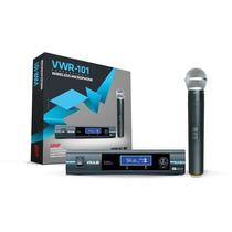 Microfone Sem Fio Vokal Uhf Wwr-101 (1 Microfone)