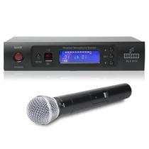Microfone Arcano Uhf Sem Fio Alx-n1h De Mão Até 160 Metros