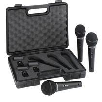 Kit Microfone Behringer Ultravoice Xm1800s C/3 Mic - Maxcomp