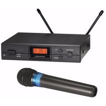 Audio Technica Atw2120 Microfone Sem Fio Uhf 2 Antenas