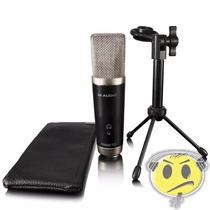 Microfone Usb M-audio Vocal Studio Condensador + Software