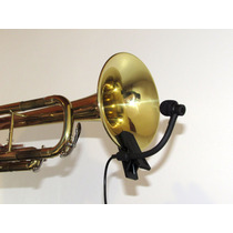 Microfone Para Sax Clarinete Trompete Trombone Cleiton Gomes