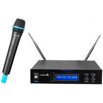 Lyco Uh-96m Microfone Sem Fio De Mão Uhf C/ Nf E Garantia