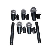 Kit Microfone Bateria Skysound Ssd7 7 Mics Case Alumínio Top