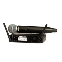 Microfone Shure Glxd24/beta58 Original Promoção Sem Juros