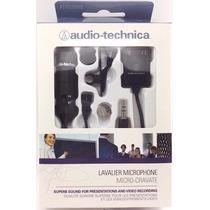 Microfone Lapela - Atr 3350is Audio-technica - P/ Smartphone