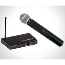 Microfone Sem Fio Tsi Ms115 Uhf Mão Acompanha Case - 5495