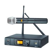 Microfone Sem Fio De Mão Staner Digital 48 Canais Srw 48 S