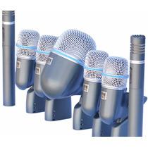 Fg Kit De Microfones Para Bateria Arcano Arc-c7 Beta Maleta
