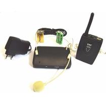 Microfone Sem Fio Vhf Auricular Headset Cor Da Pele 110/220