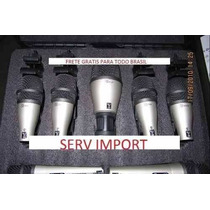 Kit Samson Com 7 Microfones Para Bateria