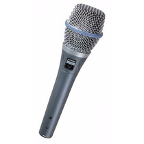 Microfone Shur E Beta 87a Condensador Phanton Power - Id1983