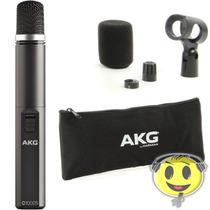 Microfone Akg C1000s Condensador + Kit Top Oferta Kadu Som