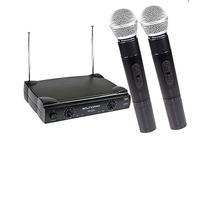 Microfone Duplo Sem Fio Profissional Sp520 Tipo Shure