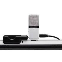 Microfone Portátil Usb Samson Go Mic P/ Laptop / Grava Sonar