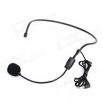 Microfone Headset Betterway Auricular De Cabeça Tipo Shure