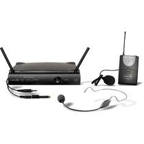 Microfone Sem Fio Headset Auricular Lapela Instrumento Lyco