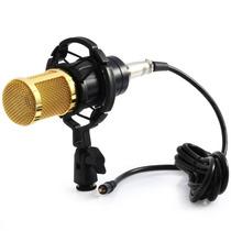 Microfone Condensador Profissional Bm800 Stúdio Gravação