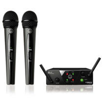 Microfone S/ Fio Wms 40 Pro Mini 2 Akg Dinâmico - Original