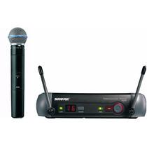 Microfone S/ Fio Shure Pgx24 / Beta58 L5 Uhf Mão 5270