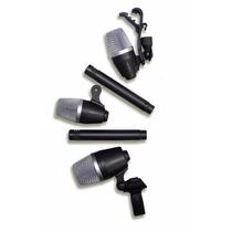 Kit De Microfone P/ Bateria Lexsen Ldm5 16796 Portal Music