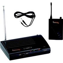 Transmisor Sem Fio Compatível C300 - Vhf Para Instrumentos