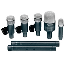 Kit De Bateria Ou Percussão Superlux Drk-b5-c2 Profissional