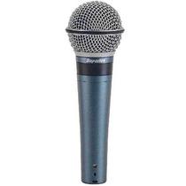Microfone Superlux Pro 248 Com Fio Profissional Voz E Inst.