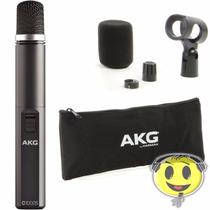 Microfone Akg C1000s Condensador + Kit Oferta Kadu Som