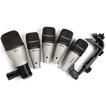Kit De Microfones Samson Kit 5 - Para Bateria - 005037