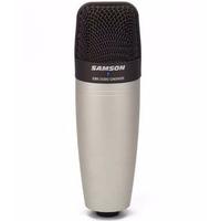 Microfone Condensador Samson C01 + Maleta De Transporte