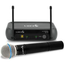 Microfone Sem Fio De Mão Lyco Vh102 Novo Som Profissional