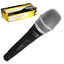 Microfone Profissional Chip Sce Com Fio Promoção Barato !