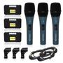 Kit 03 Microfones Sincler A35= Arcano Beta58 Beta 58