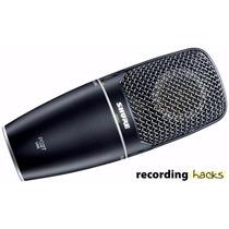 Shure Pg27-usb Condenser Microfone Vocal Original