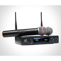 Microfone Tsi Ud-800 Uhf - Sem Fio