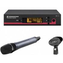 Microfone Profissional Sem Fio Sennheiser Ew135g3 Cardioide