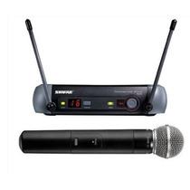 Microfone Shure Pgx24beta58 Sem Fio Original Com Nf