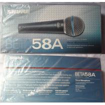 Microfone Shure Beta 58a - Frete Grátis