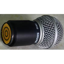 Capsula Para Microfone Sem Fio Shur E Sm 58 Sm58 Pgx Id1983