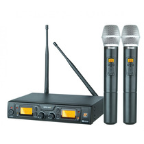 Microfone S/ Fio Staner Duplo Mão Srw48d Ht - Novo Loja Nfe