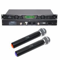 Microfone Arcano Sem Fio Arc-100 Capsula Beta