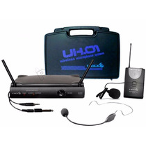 Microfone Sem Fio Headset Auricular Lapela Lyco - Audio Som